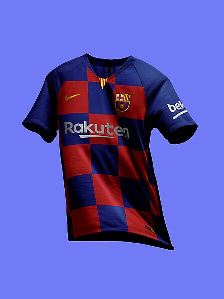 best service 450de 2e736 Nike FC Barcelona 2019-20 Plaid Jersey Preview