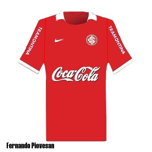 Sport Club Internacional home shirt