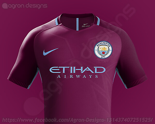 brand new 68c45 590ce Nike Manchester City Fc 2017-18 Away Kit Based On Leaked Images