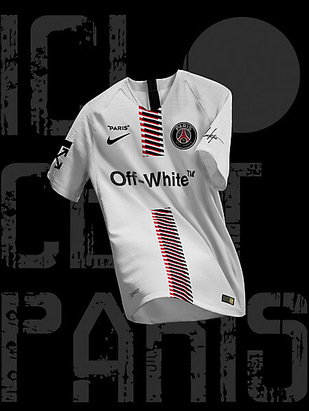Nike Off-White Paris SG Third Jersey Concept