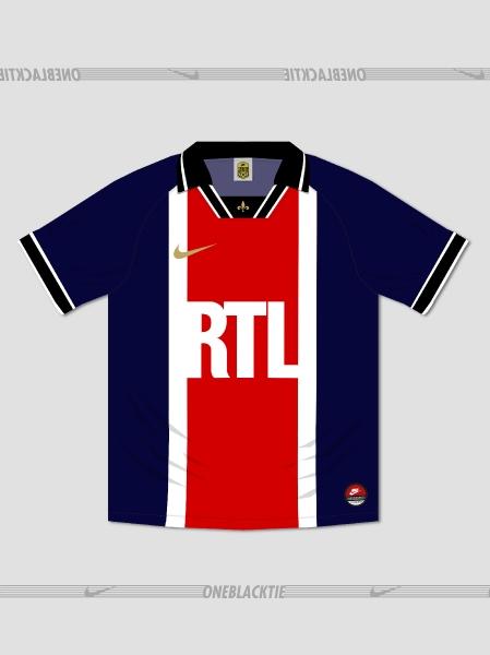 Nike Paris Saint-Germain 1994-2019 Retroconcept Jersey