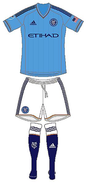 NY City FC Adidas Home Kit