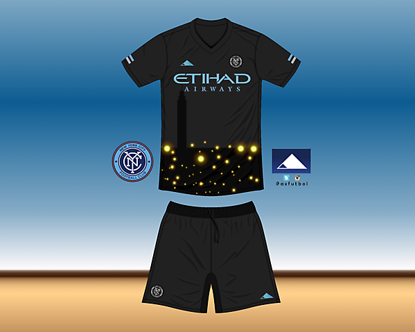 NYCFC Away Kit own design