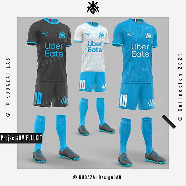 OM Marseille - Full kit Design concept