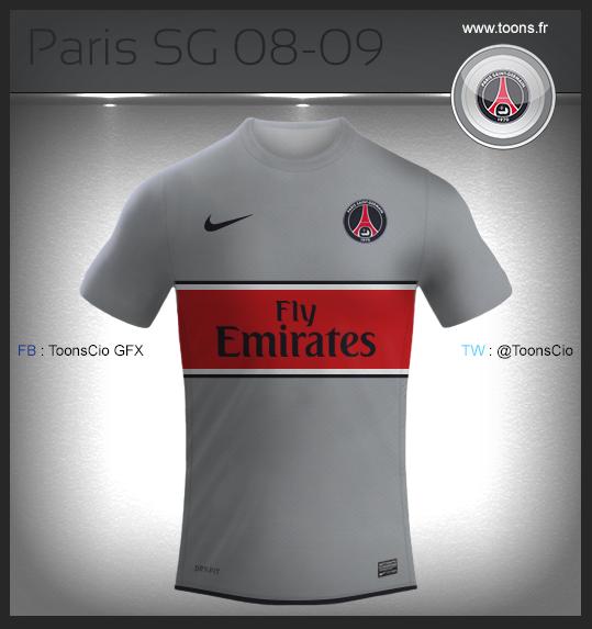 Paris SG 08-09