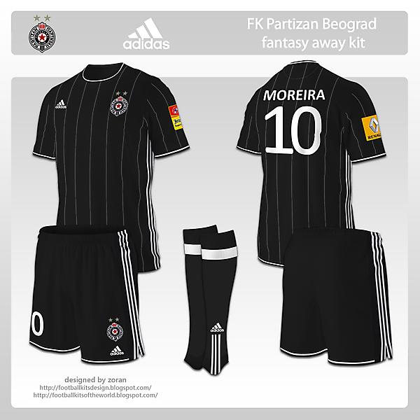 FK Partizan Beograd fantasy away