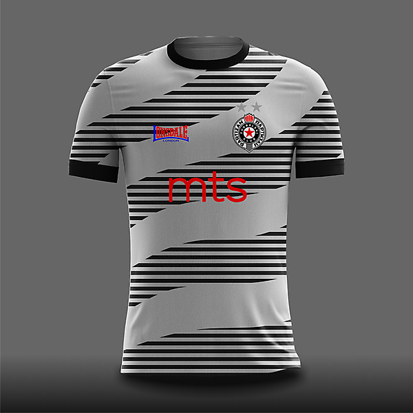 Partizan Beograd Home Concept X Lonsdale