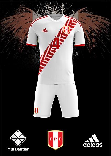 Peru World Cup 2020 Jersey.Peru 2018 World Cup Home Adidas Jersey