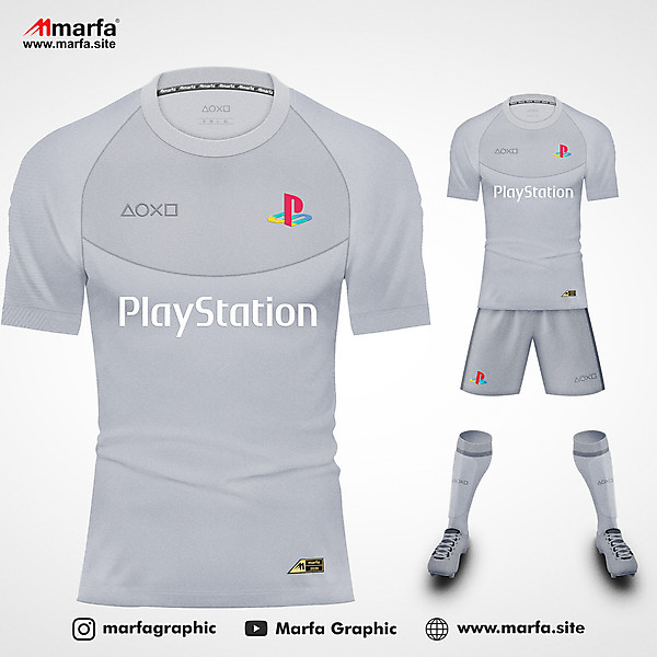 PLAYSTATION 1 (PS One) FANTASY JERSEY KIT