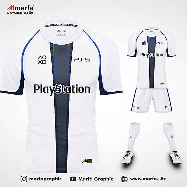 PLAYSTATION 5 (PS 5) FANTASY JERSEY KIT