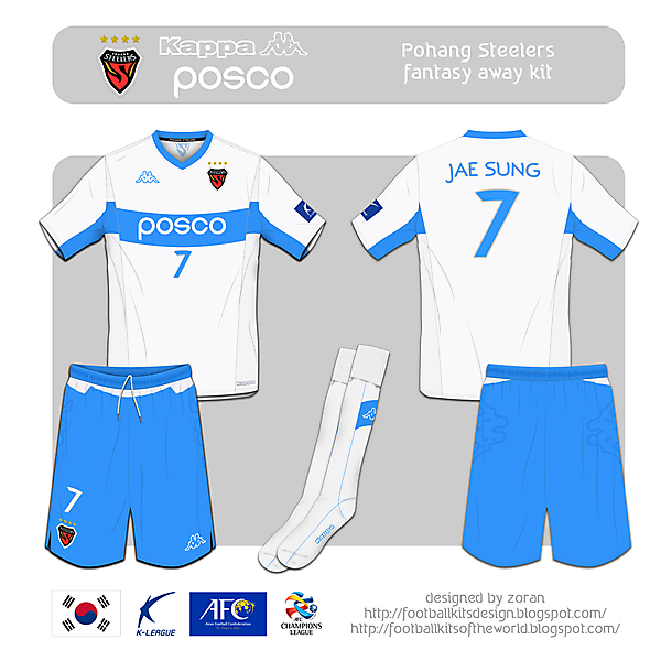 Pohang Steelers fantasy away