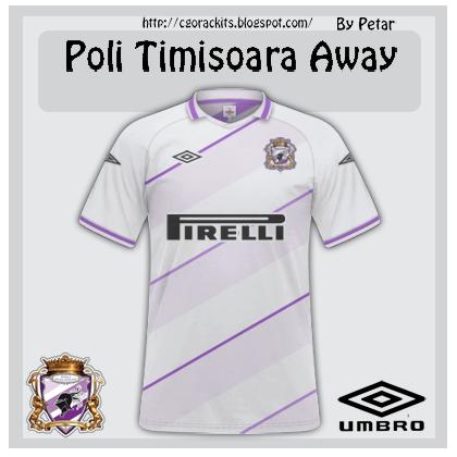 Poli Timisoara Away Kit