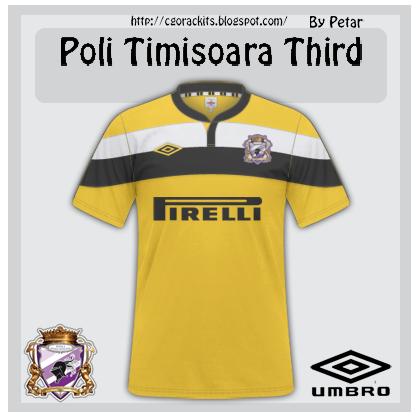 Poli Timisoara Third Kit