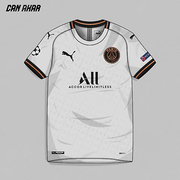PSG Away Kit x Puma