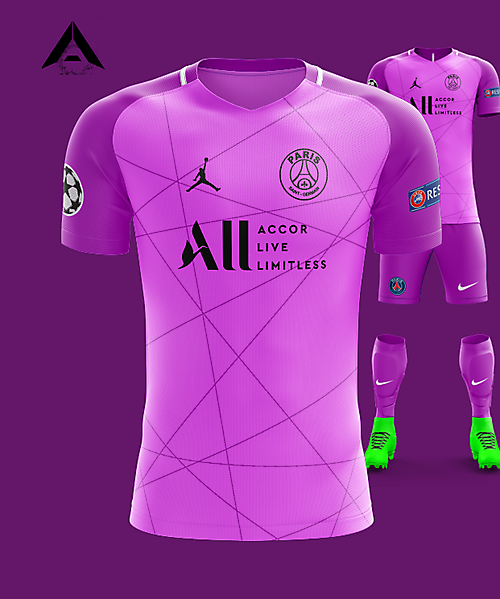 PSG Nike 2021 Alternate Kit