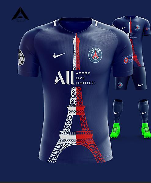 PSG Nike 2021 Home Kit