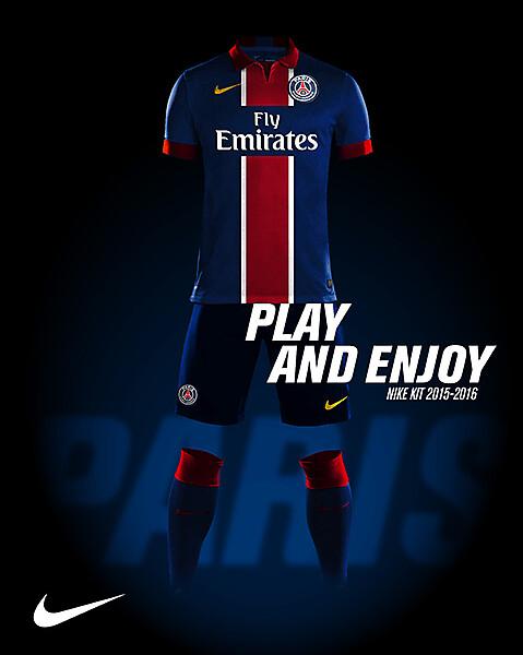 PSG Nike Kit 2015-2016