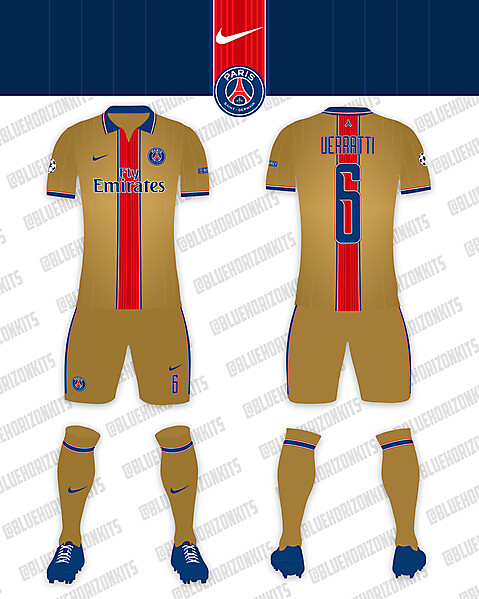 PSG Third Kit (UCL)