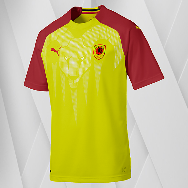 Puma Angola Home Jersey (with sable antelopes graphic)
