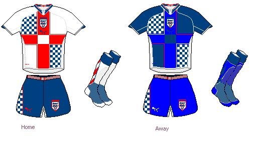 England Puma Shirts II