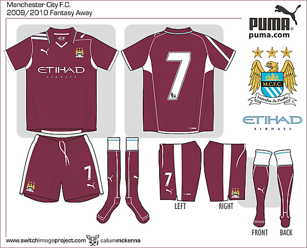 Man City fantasy Puma Away