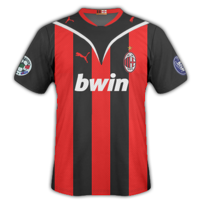 finest selection fcaef e63e0 AC Milan 2009/10 by Puma