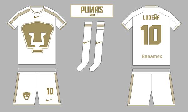 Pumas UNAM - Home kit