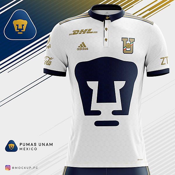 Pumas UNAM x Adidas - Away Kit
