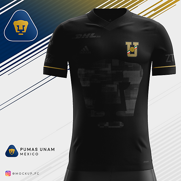 Pumas UNAM x Adidas - Third Kit