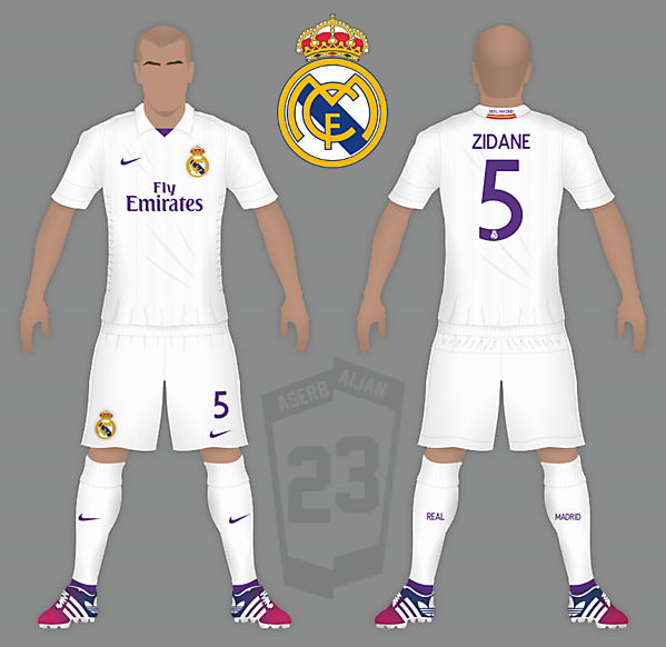 Real Madrid Nike Home
