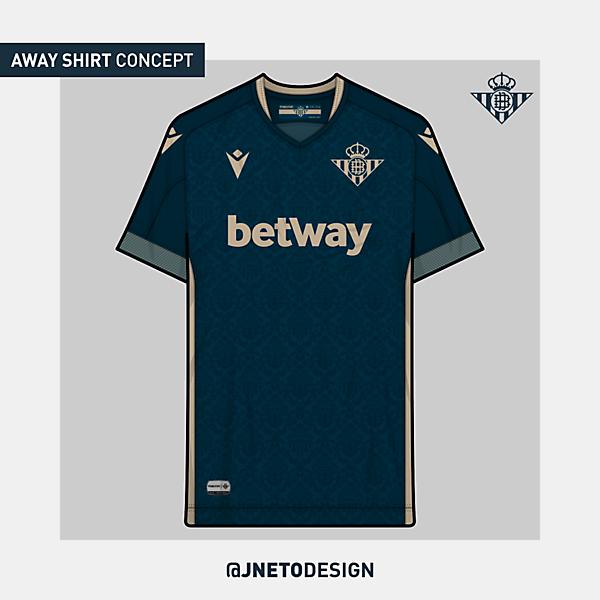 Real Betis   away shirt concept   @jnetodesign