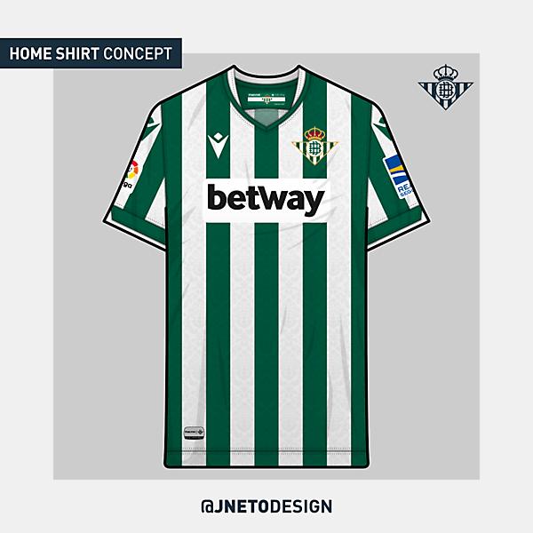 Real Betis | home shirt concept | @jnetodesign