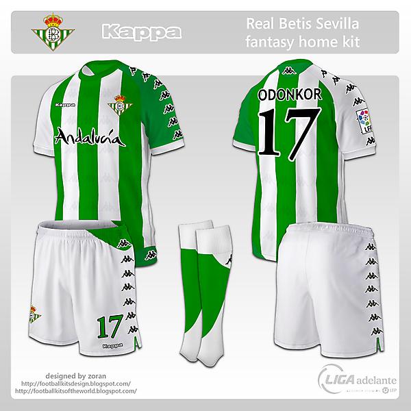 Real Betis Sevilla fantasy home