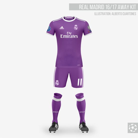 official photos 7d19f 7a636 Real Madrid 16/17 Away Kit