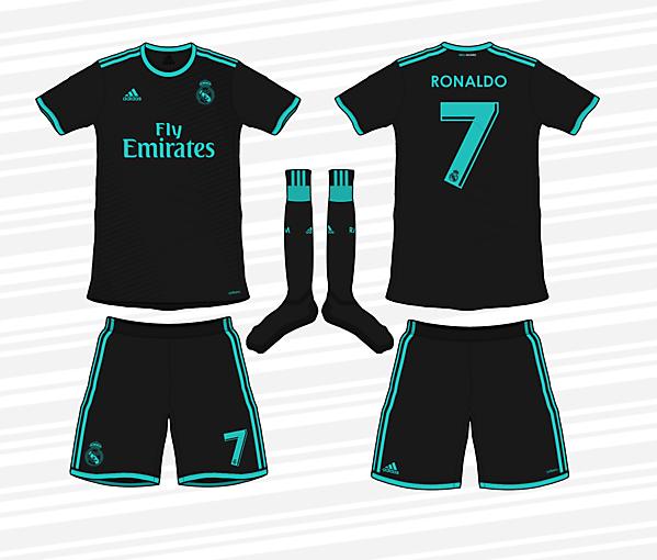 Real Madrid 2017/18 Away Kit