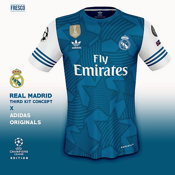 big sale c6217 28c4b Real Madrid 3rd Kit: Champions League Edition