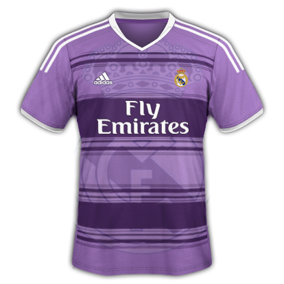 finest selection 7c2e6 a47e4 Real Madrid Fantasy Third 'Champions League' Kit 2014/2015