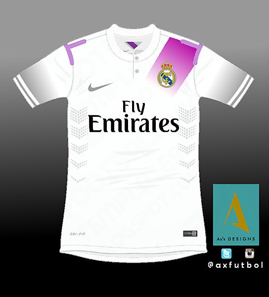 Real Madrid Nike shirt.