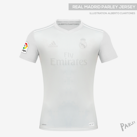 brand new ce334 8a164 Real Madrid Parley Jersey