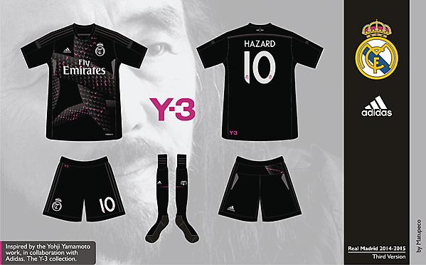 Real Madrid Third Kit 2014/2015 - Prediction