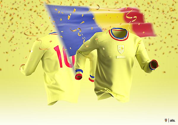 Romania X Joma - Anniversary Shirt - 110 Years