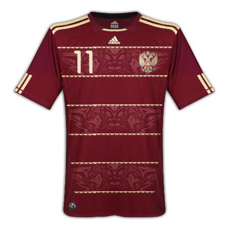 Russia 09 11 Adidas Kit