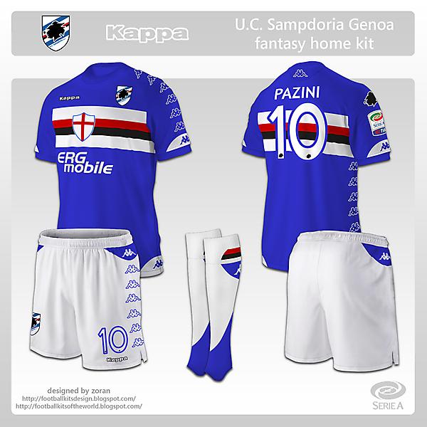 Sampdoria fantasy home