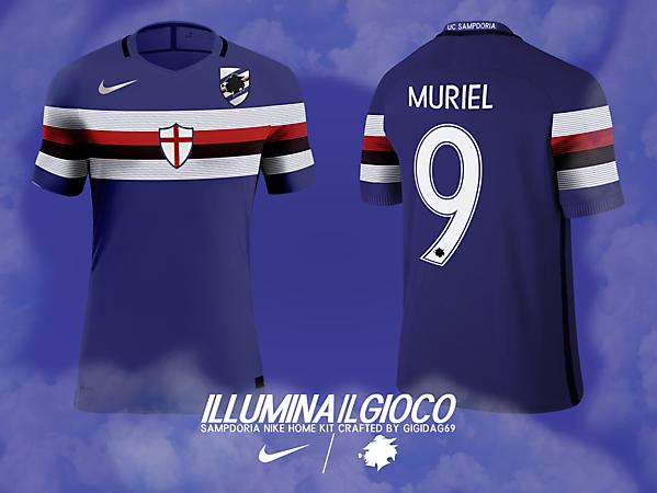 Sampdoria X Nike