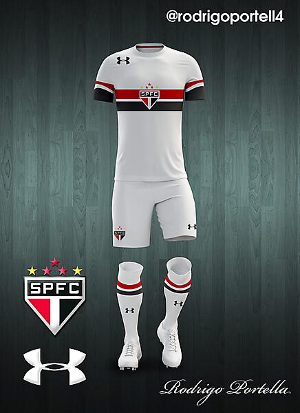 São Paulo 2016-17 home kit