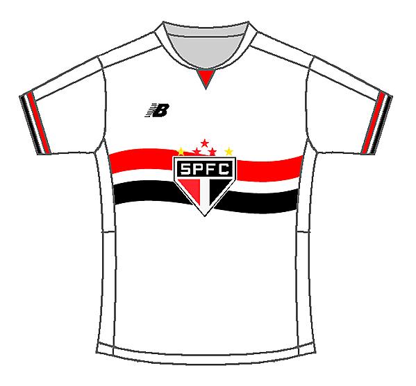 São Paulo FC Home Kit by #Sportix