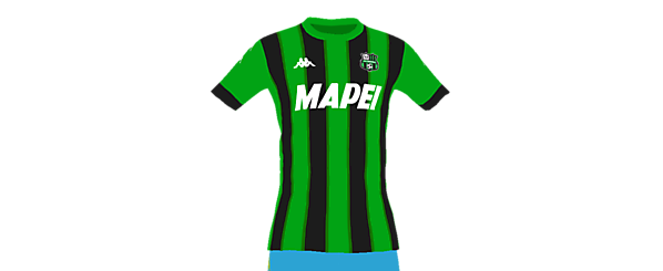 Sassuolo home kit