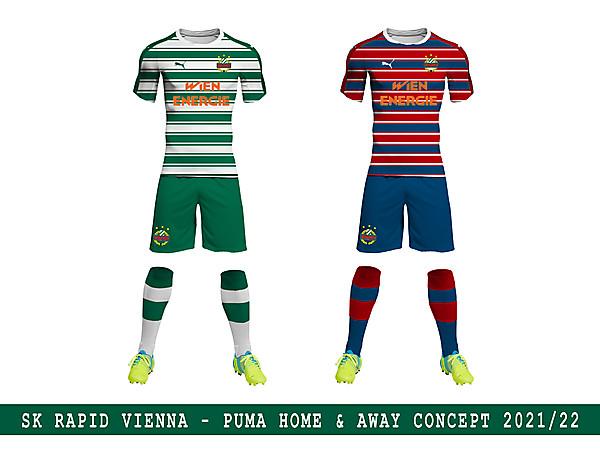 SK Rapid Vienna Puma Concept 2021 2022