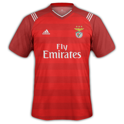 cheap for discount 7f97b f4296 SL BENFICA 1st kit 2017/2018