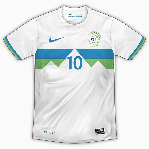 Slovenia Home Shirt - Nike